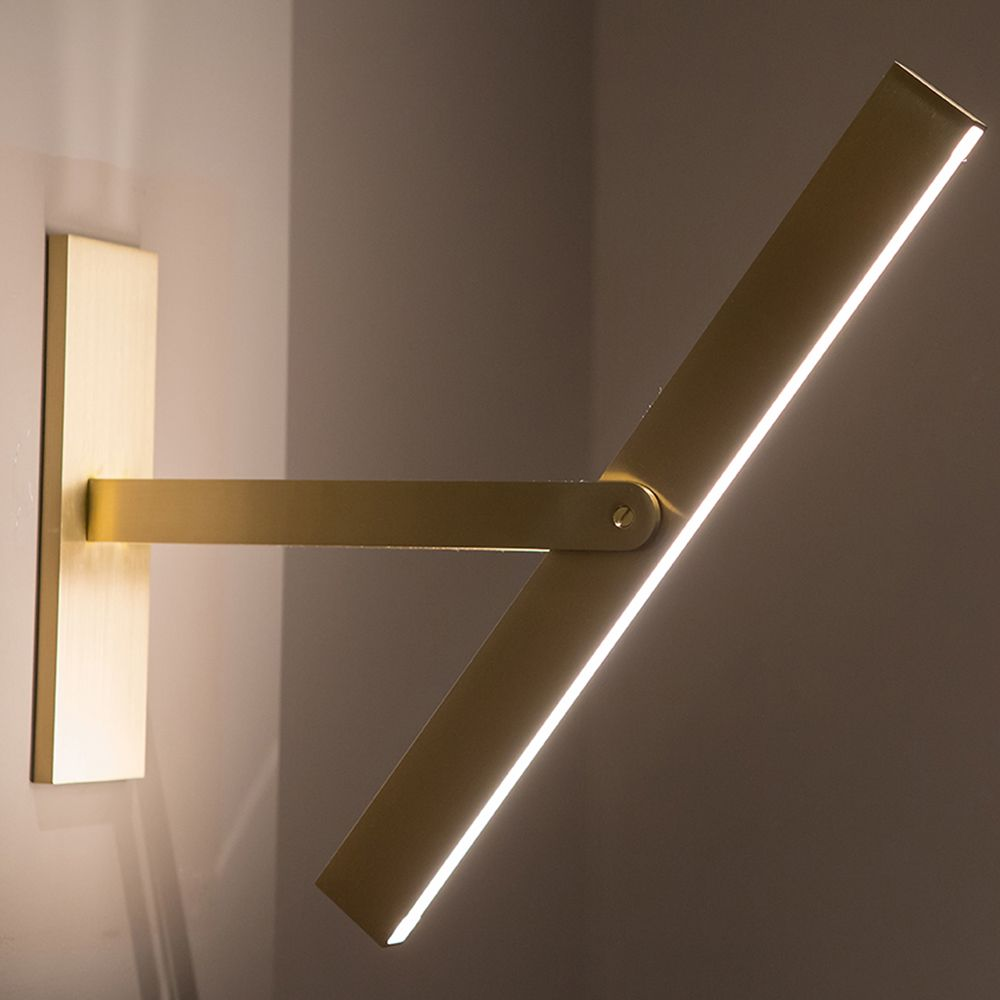 Pivot Wall Sconce Lamp Light Modern Contemporary Metal Industrial