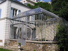 véranda à l'ancienne | Veranda, Jardins, Porte vitrée