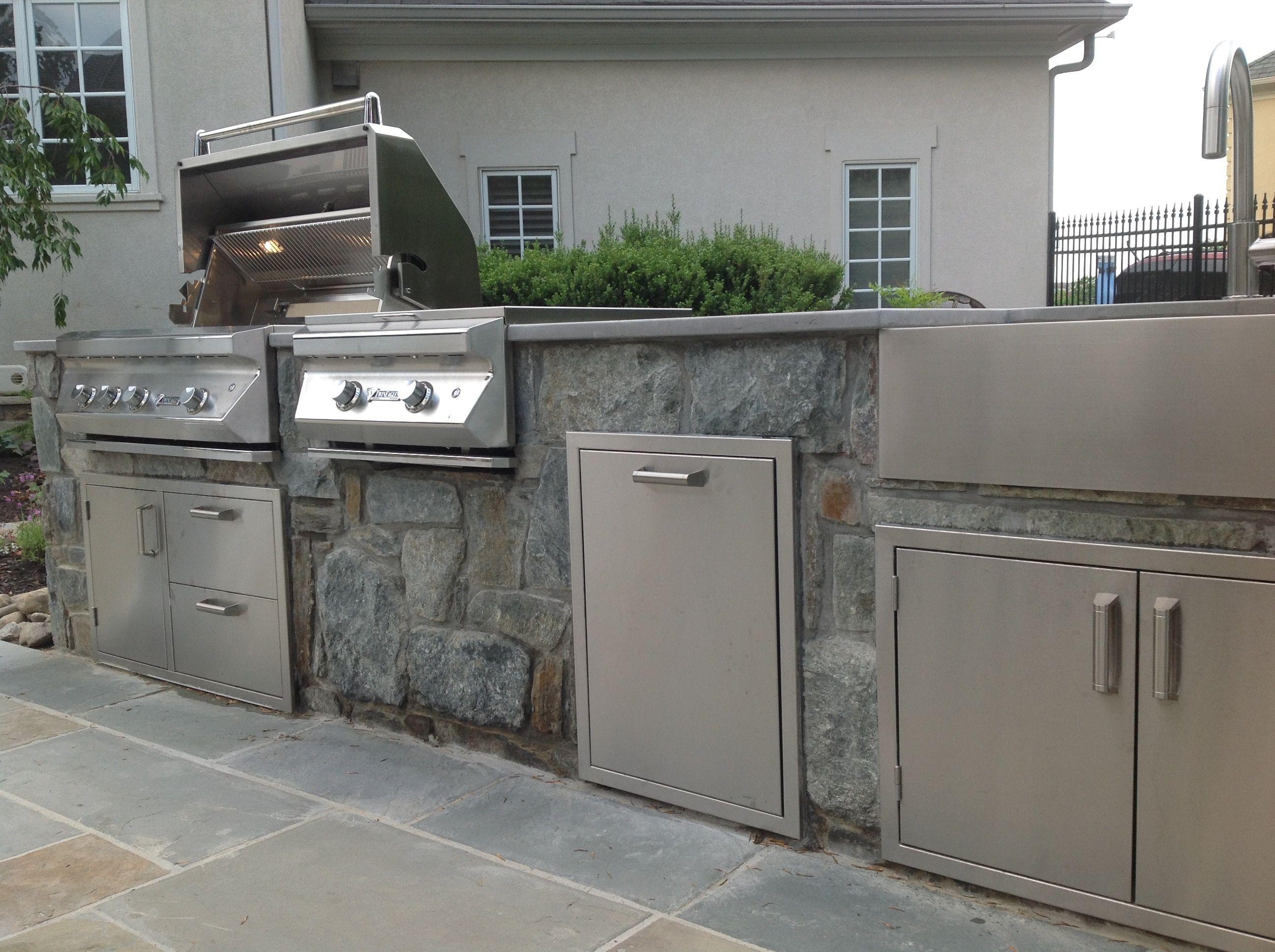 outdoor kitchen griddle decoration for custom kitchens pinterest