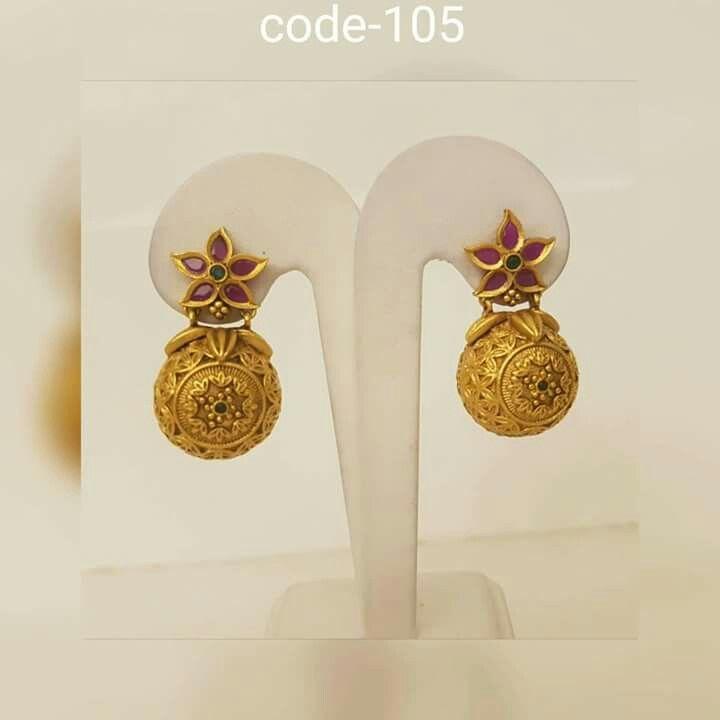 Beautiful earrings Nagai Pinterest