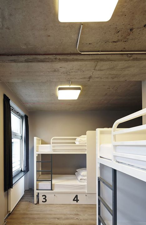 Best generator hostel berlin mitte by the design agency modern hotel Generator Berlin Mitte Hostel By The Style Agency And WAF Architects mat