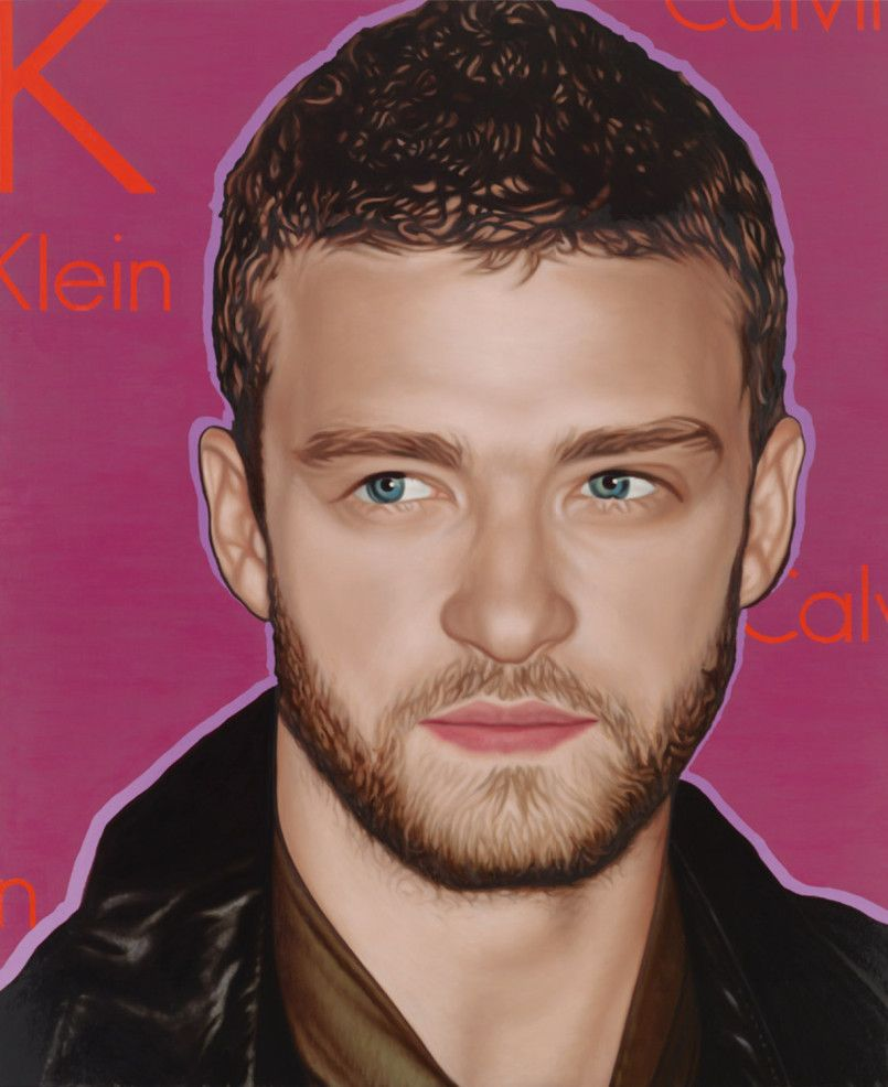New large scale artworks by richard phillips celebrity