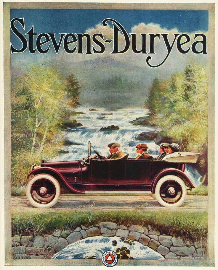 1914 Stevens-Duryea Advert | Old Automobile Memorabilia | Pinterest ...