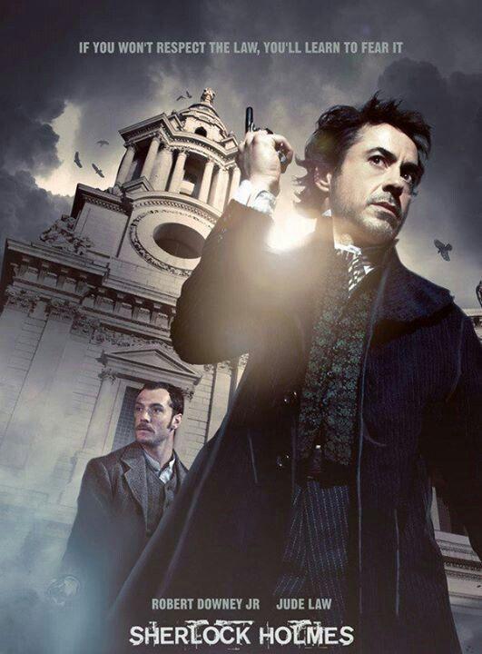 Sherlock Holmes (Robert Downey jr)