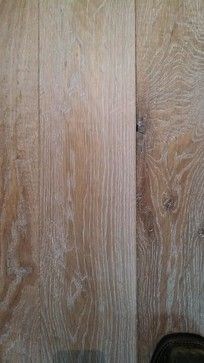 wide oak plank white washed oil finish - Rustic - Wood Flooring ...