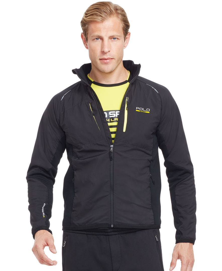 Polo Ralph Lauren Hybrid Tech Jacket Jackets, Mens