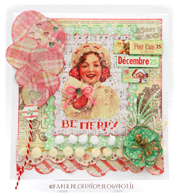 Paper Profusion: Be Merry