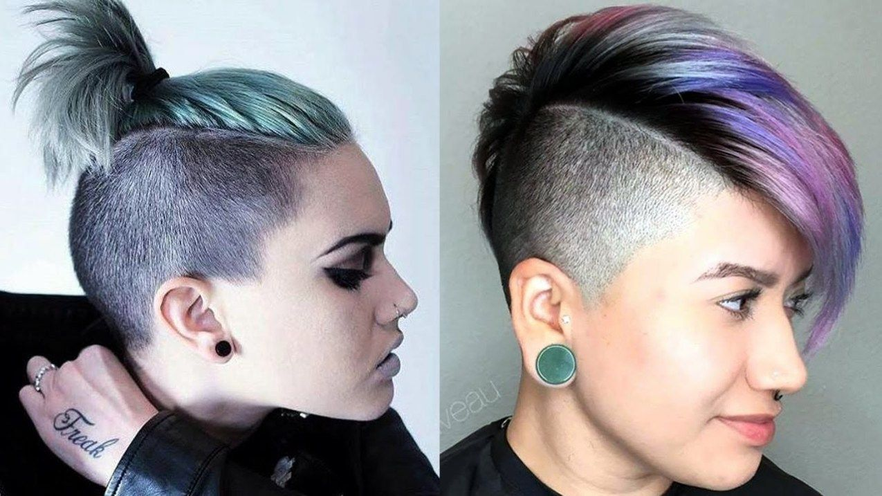 Short Side Haircuts Female Latest Hairstyles 2020 New Hair Trends Top Hairstyles Side Haircut Long Hair On Top Short Sides Haircut