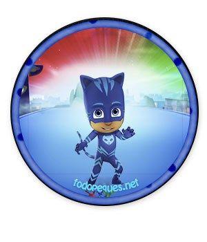 Catboy etiquetas pj masks - catboy stickers pj masks