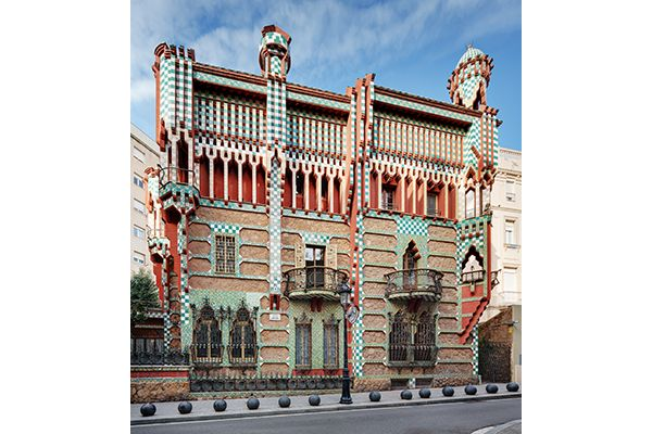 Trabajos en curso: Casa Vicens - IconicHouses