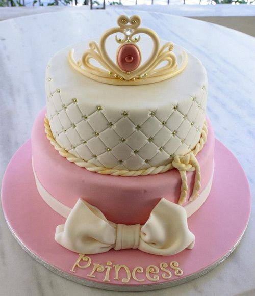 Princess Crown cake by Party Cakes By Samantha on Flickr.