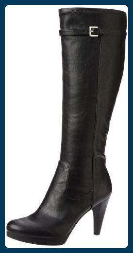 bad10143ca2b13 Nine West Noureen 3 Damen Schwarz Mode-Knie hoch Stiefel Neu Display EU 41