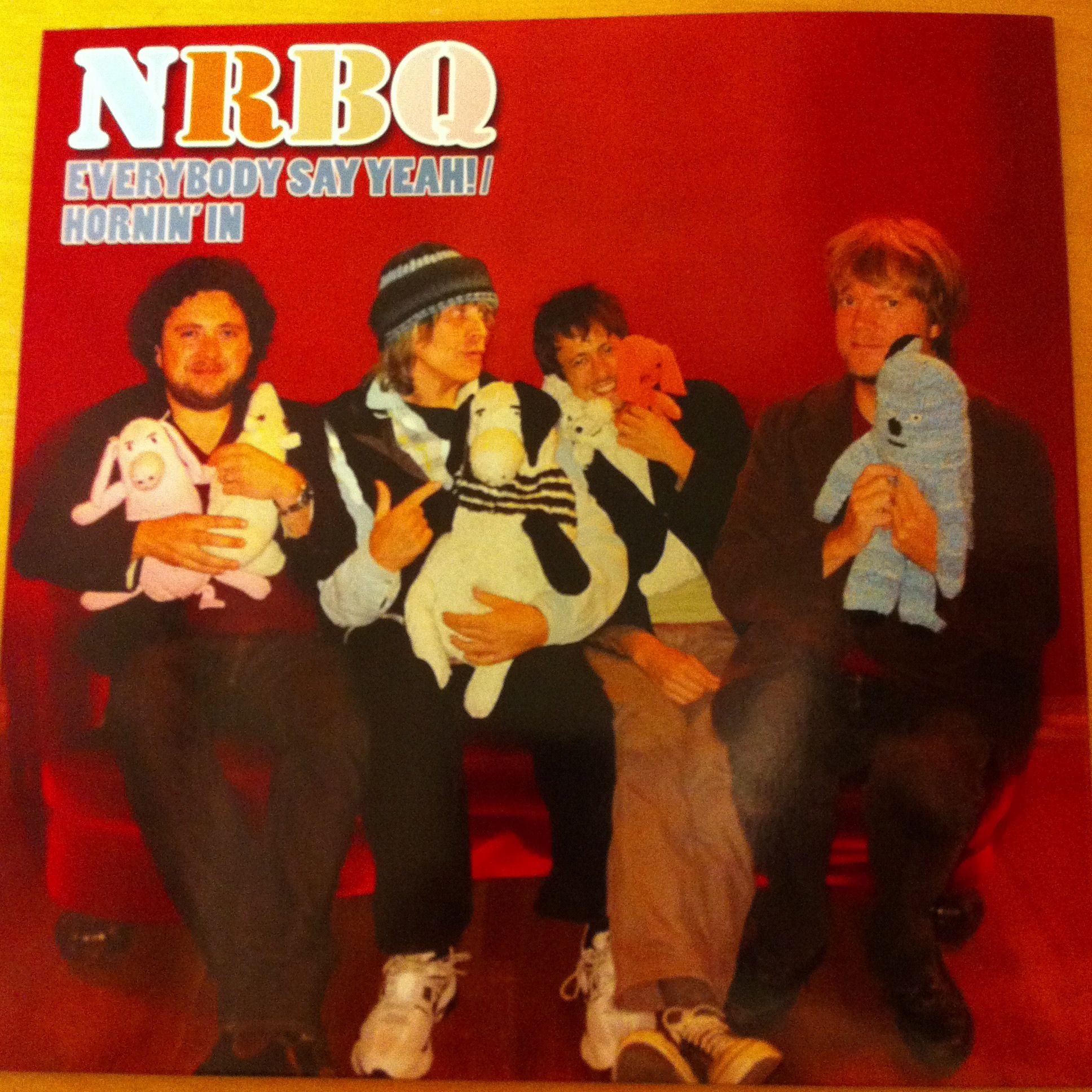 NRBQ / Everybody Say Yeah! / Hornin' In 7inch Euclid records 2012