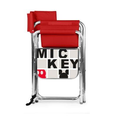 Disney Classics Mickey Mouse Ventura Portable Reclining Stadium Seat Red