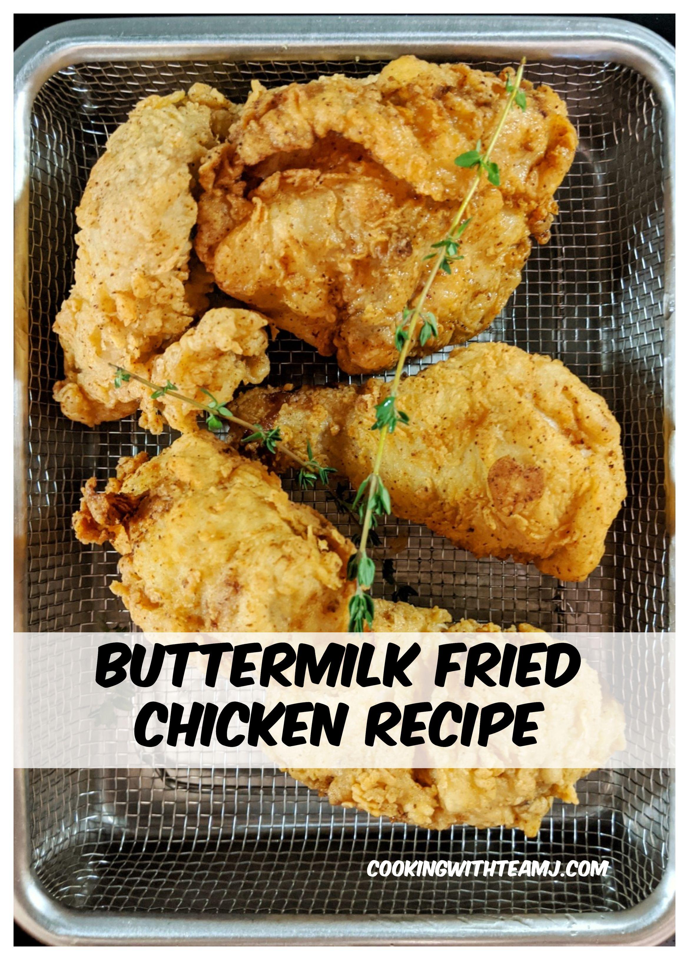 Buttermilk Fried Chicken Recipe Recipe In 2020 Chicken Recipes Fried Chicken Recipes