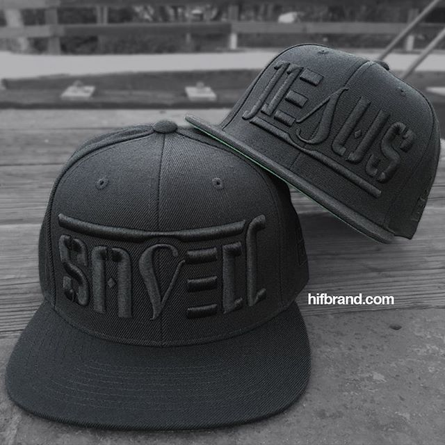 a1e6540cb67 All black snapback with black 3-D embroidery