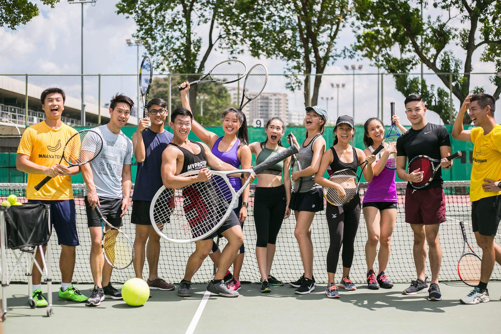 Tennis Lessons Singapore Banana Tennis Academy Tennis Lessons Tennis Tennis Coach