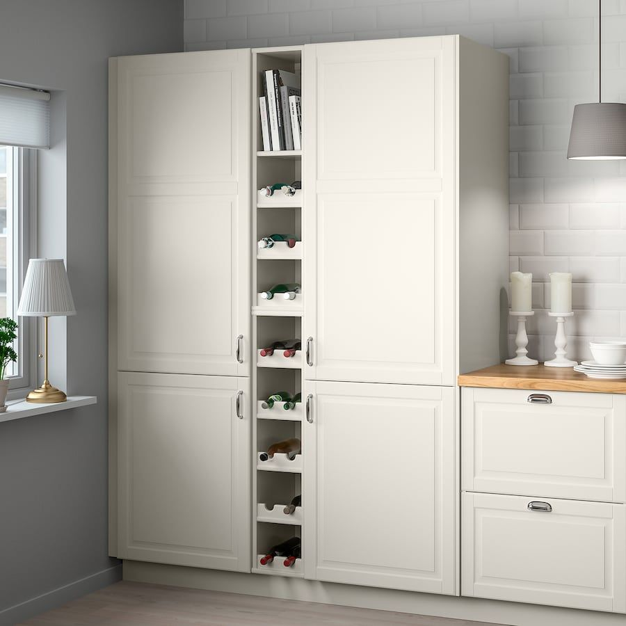 Tornviken Open Cabinet Off White Width 9 Depth 24 3 4 Buy Online Or In Store Ikea In 2020 Open Cabinets Bathroom Storage Cabinet Minimalist Kitchen