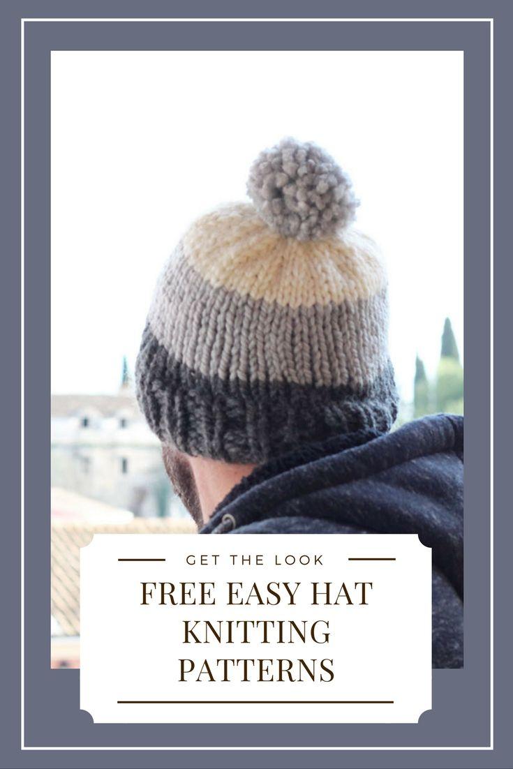 Men's Hat Knitting Pattern Bundle   Knitting hat   Mens hat knitting