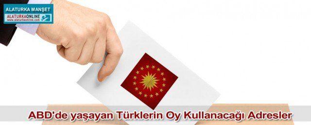 Amerika'da yaşayan Türkler 31 Temmuz - 3 Ağustos 2014 tarihlerinde oy kullanabilecek. İşte Cumhurbaşkanlığı Seçimleri Amerika Oy Kullanma Kılavuzu..