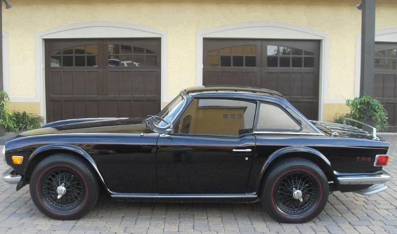 74' TR6 hardtop convert   wheels   Triumph motor, Cars