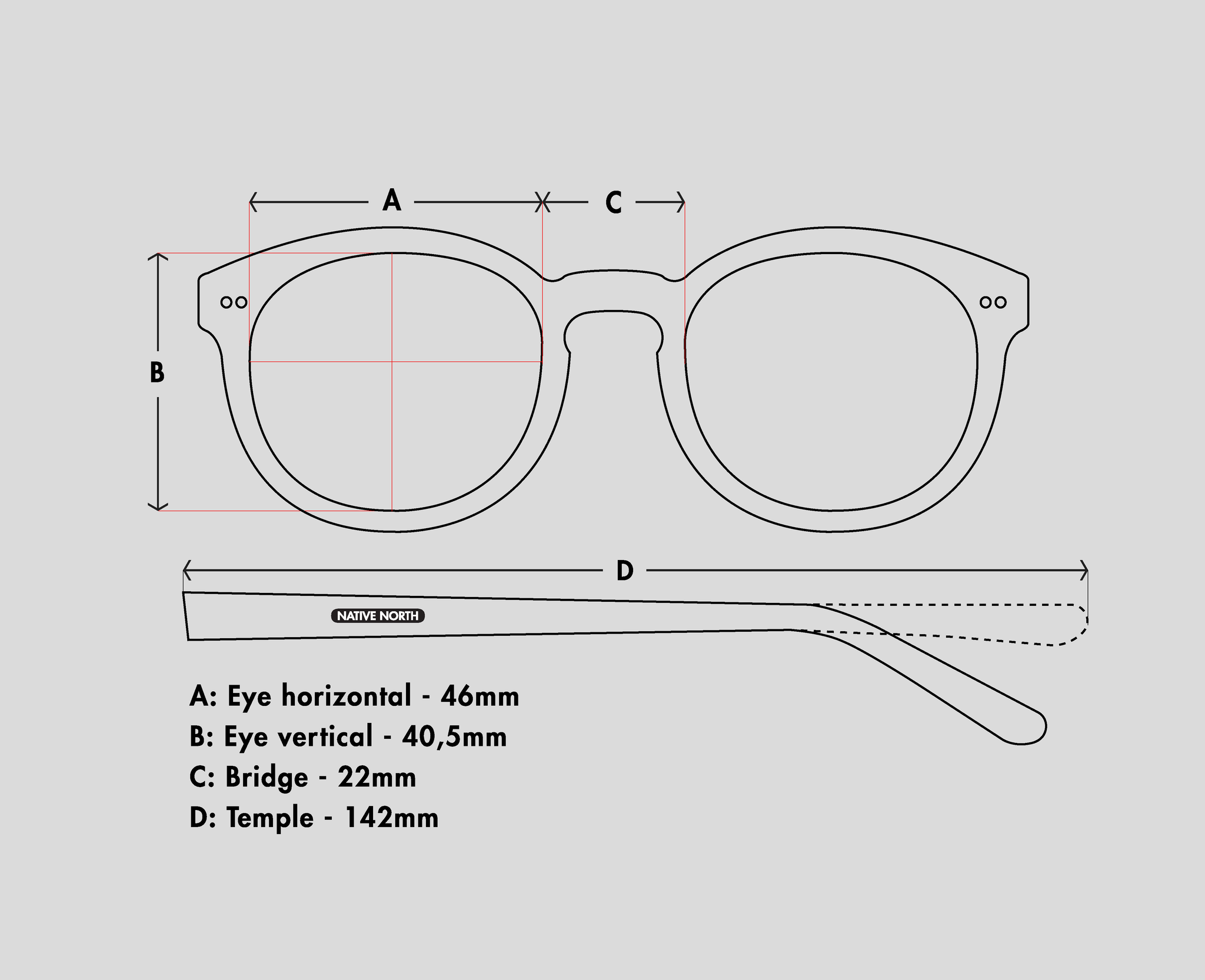 Perpetual Amber Native North Eyewear Design Wooden Eyewear Wooden Glasses