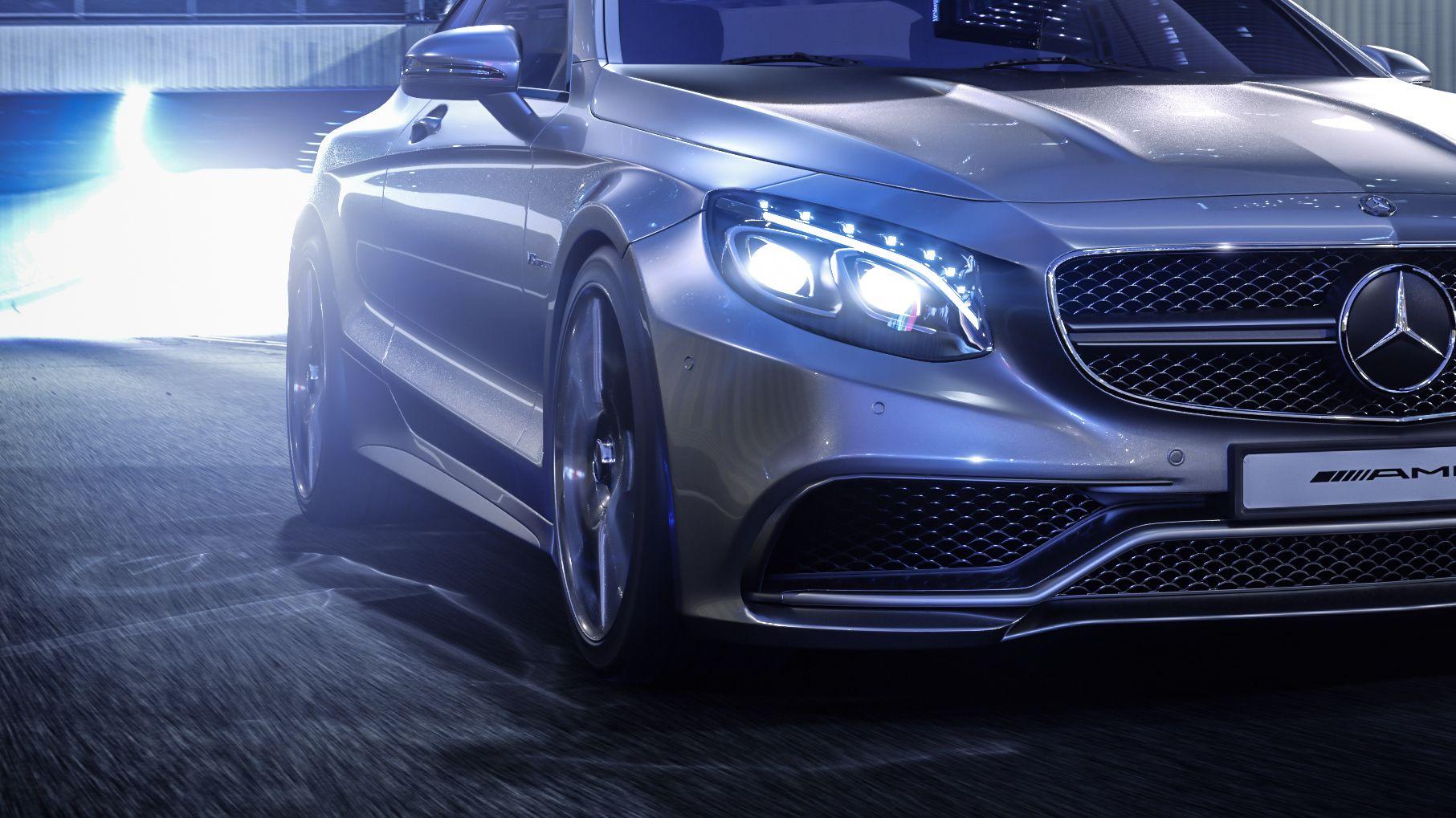 Mercedes S-Coupé AMG v2 on Behance