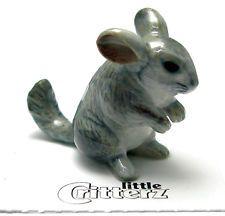 Clay Chinchilla Porcelain Animal Animal Figurines Animal Figures