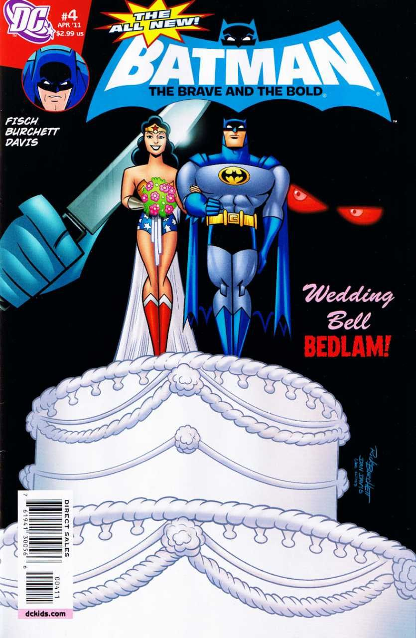 All New Batman The Brave And The Bold Issue 4 The Bride And The