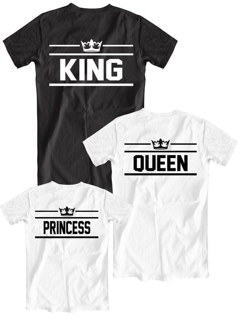 T shirt design queens ny - Matching Family Set King Queen And Princess