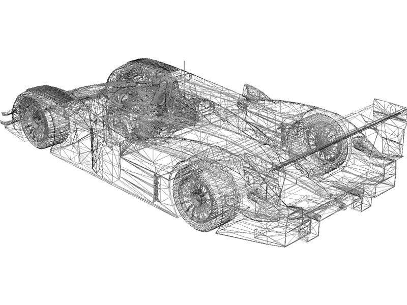 Audi r8 lemans 3d model cutaway and blueprint pinterest audi r8 lemans 3d model malvernweather Images