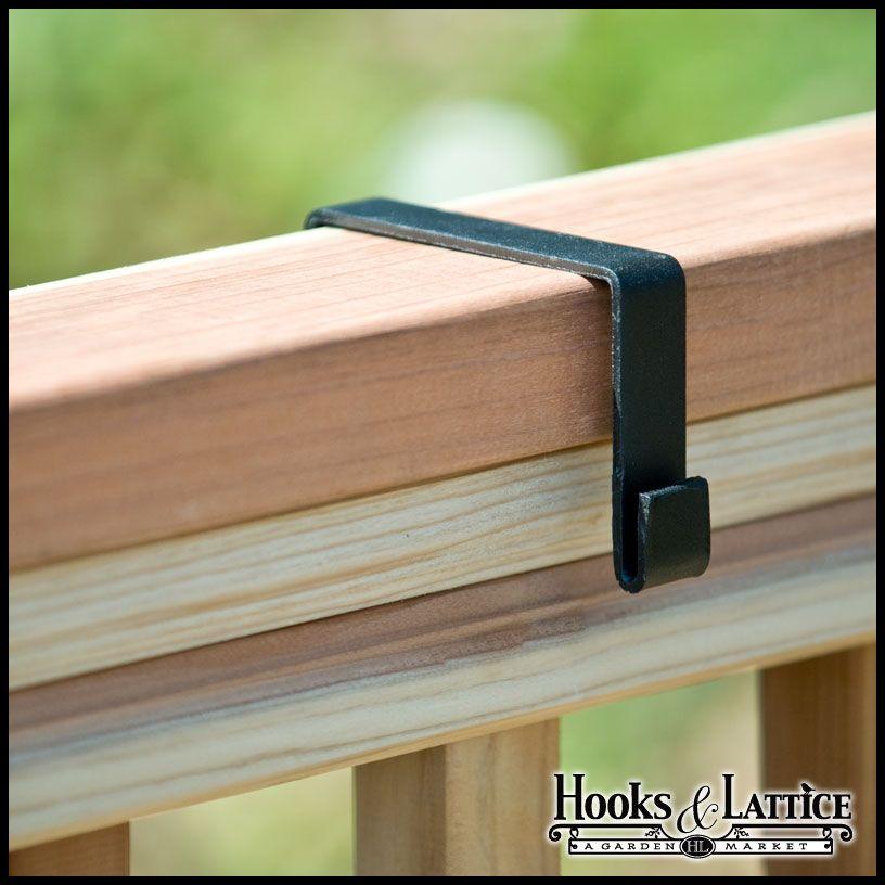 Deluxe Deck Rail Bracket 2x4 Wood Railing Pair 10 85 Wood Railing Deck Railings Deck Rail Bracket
