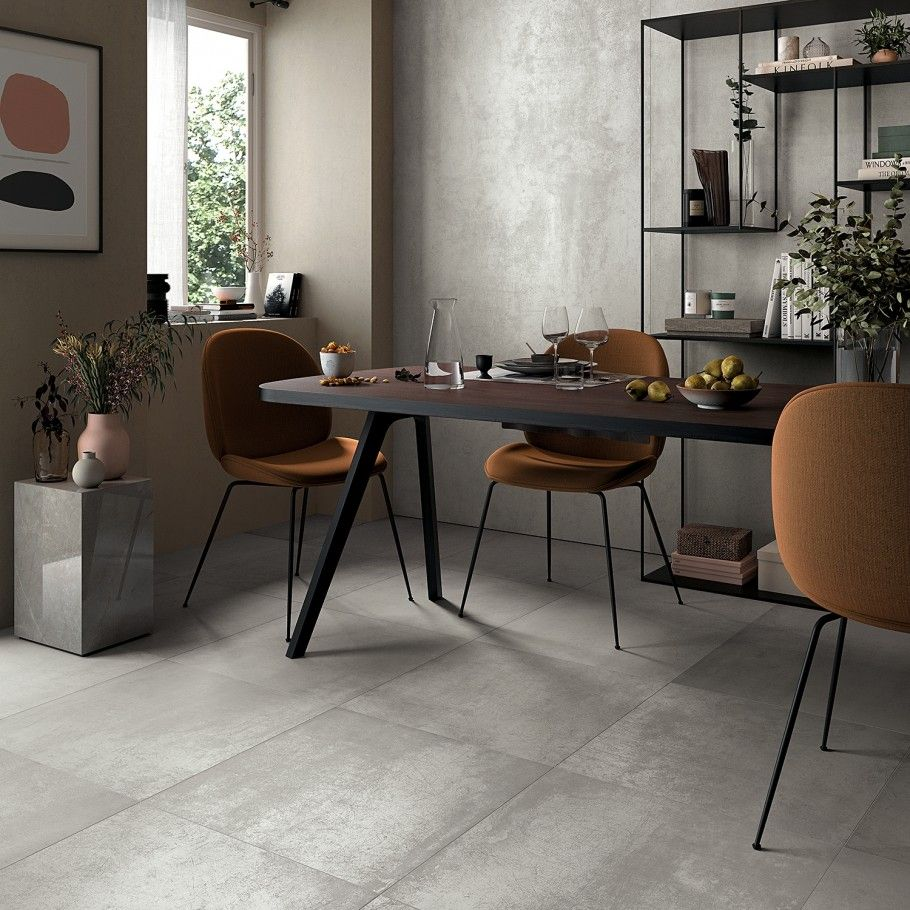Bond Palladium 12x24 Matte Porcelain Tile In 2020 Tile Floor Living Room Porcelain Tile Concrete Look Tile