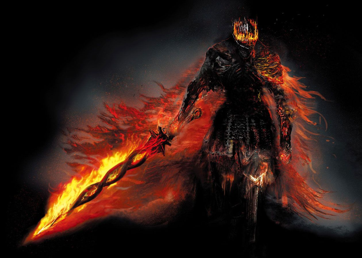 Soul Of Cinder From Dark Souls Iii Kartinki Temnyj Art Rycar