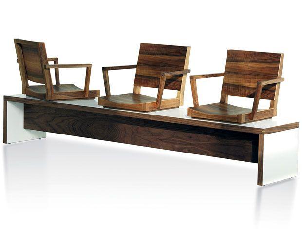 Oliver Conrad oliver conrad sitzbank airport stühle sitzen wohnsektion