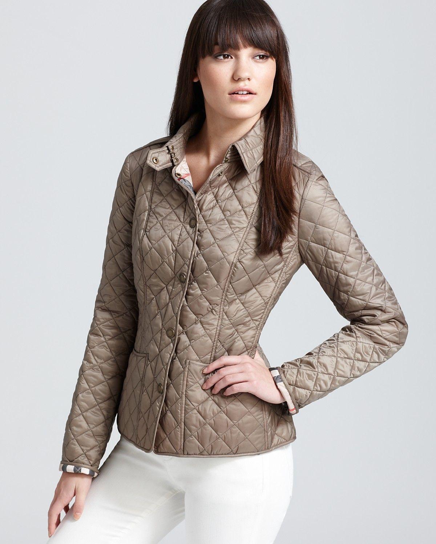 Burberry Kencott Lightweight Quilt Jacket Women Bloomingdale S Lightweight Quilted Jacket Quilted Jacket Coats For Women