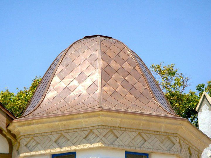 Copper Roofs Carpenter S Roofing Amp Sheet Metal Copper Roof Metal Roof Construction Metal Shingles