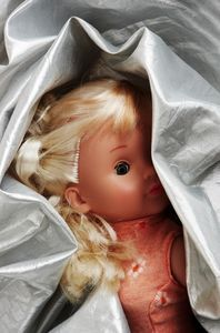 Clean Mold From Vinyl Baby Dolls #dollcare