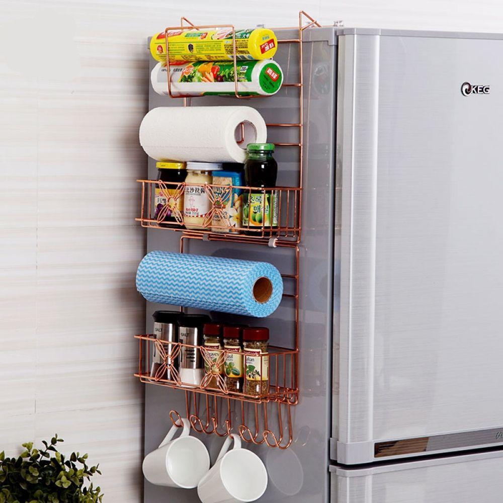 Etagere Murale Micro Onde useful refrigerator side organizer price: 53.36 & free