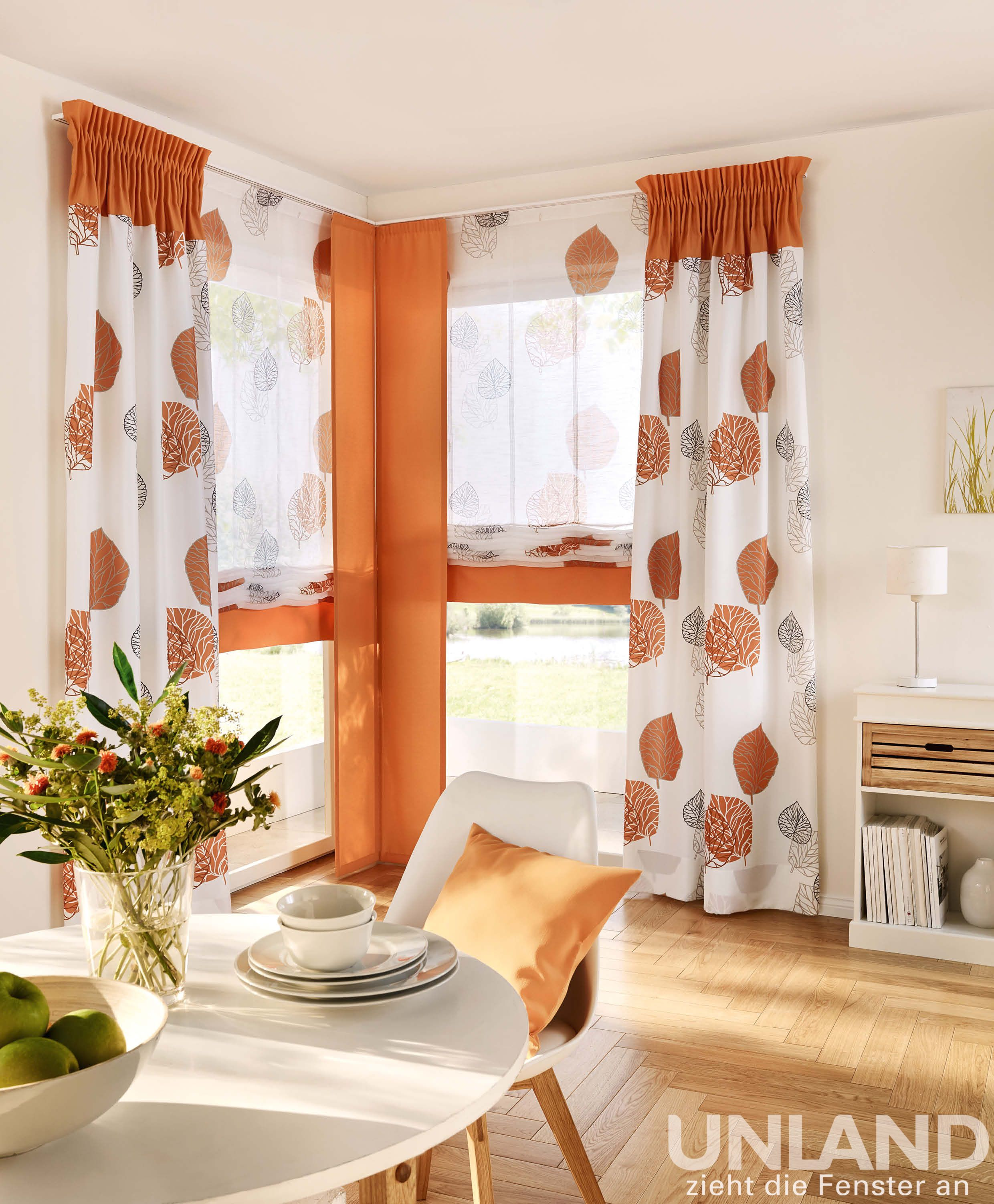 Unland Lione - Vorhang, Fensterideen, Gardinen und Sonnenschutz ...