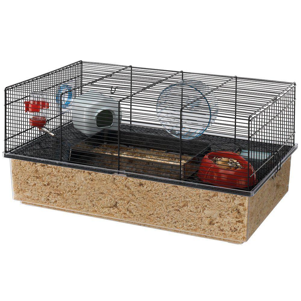 Amazon Com Ferplast Hamster Cage Black Pet Supplies Hamster Cage Small Animal Cage Hamster