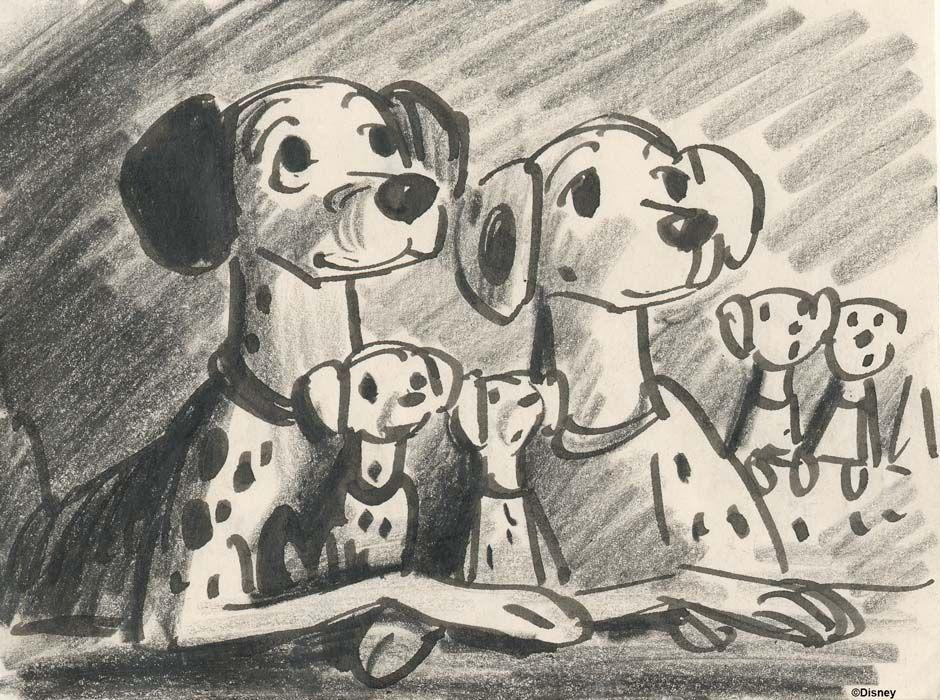 Disney Dog Drawings
