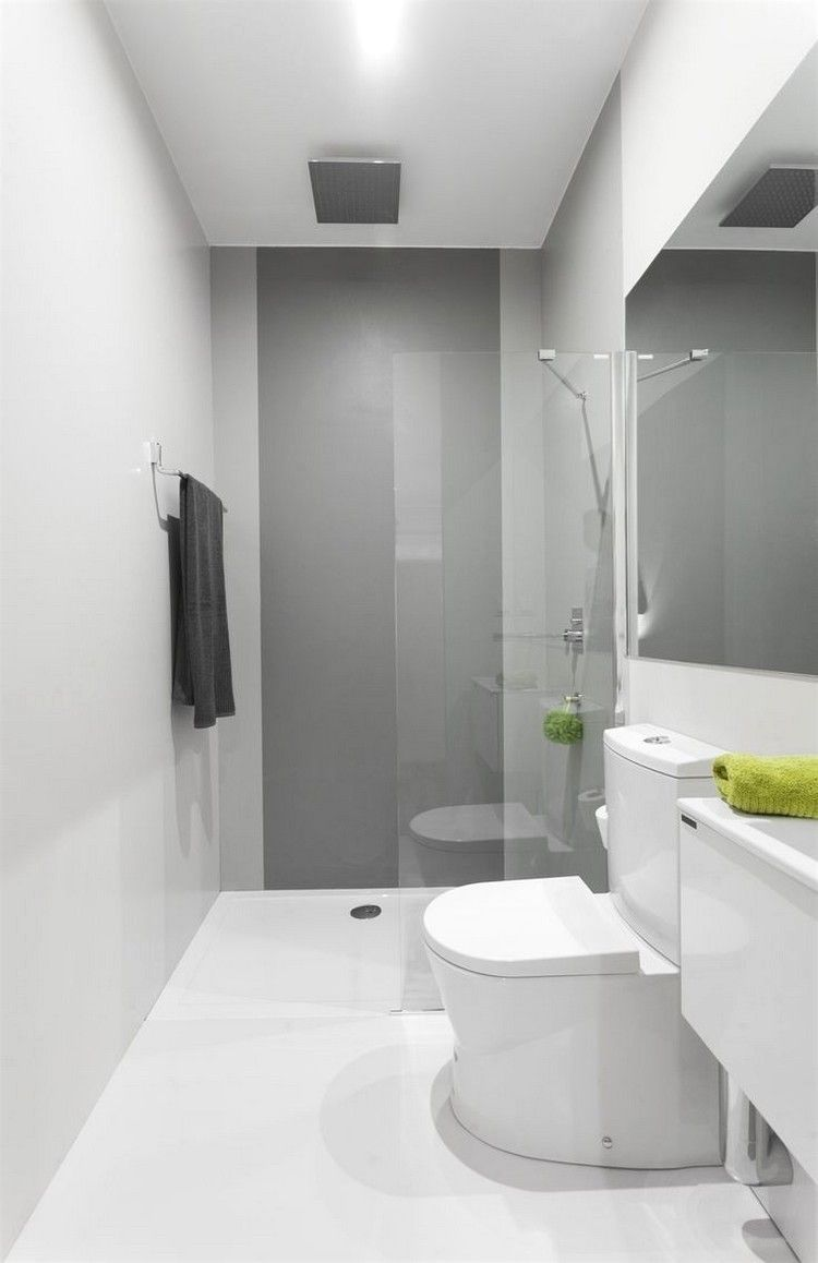 Kleines Bad Gestalten 2 5 Qm Kleines Bad Einrichten Bad Einrichten Schmales Badezimmer