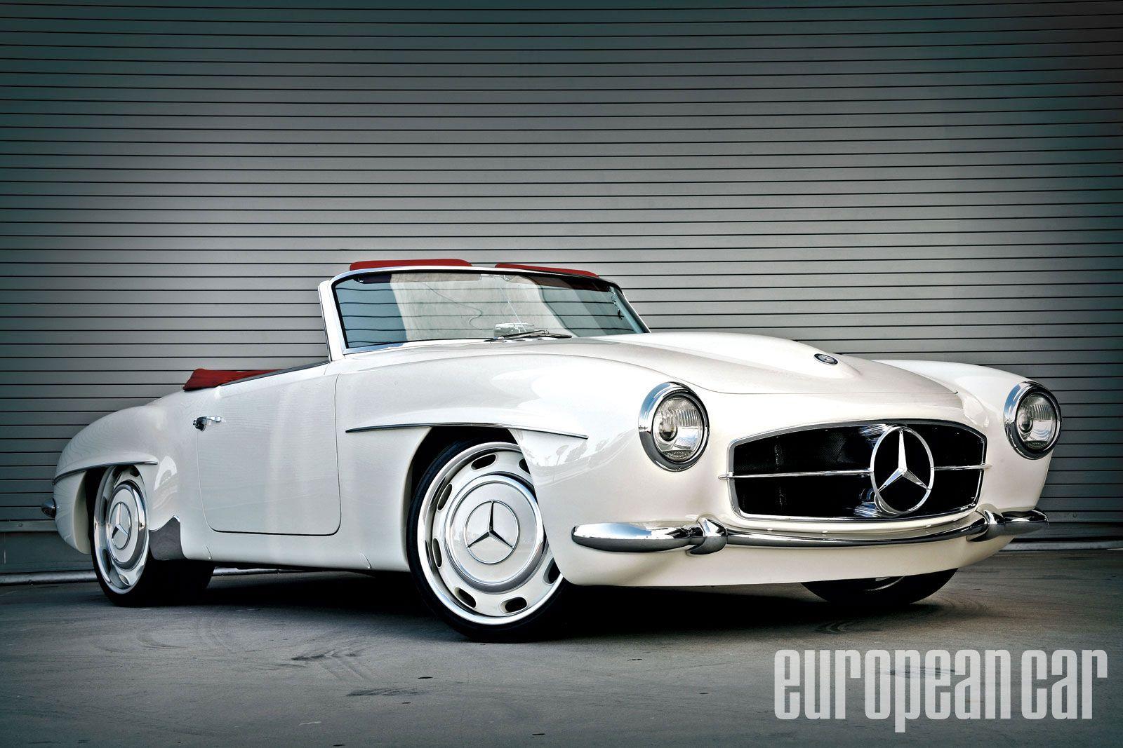 Mercedes bent 190 sl custom evod wheels photo 12 for my for Custom mercedes benz wheels