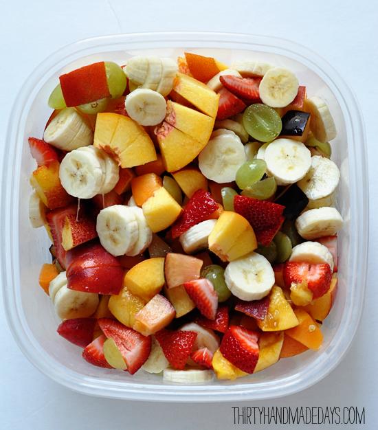 Birchermuesli Swiss Fruit Salad Ensaladadefrutas Fresh Fruit Recipes Fruit Salad Healthy Snacks