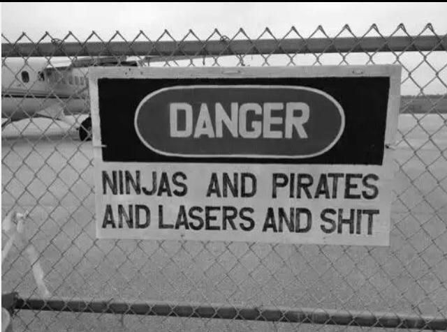 Enter at own risk.