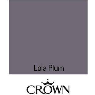 Crown Kitchen Bathroom Matt Paint Lola Plum 2 5l From Homebase Co