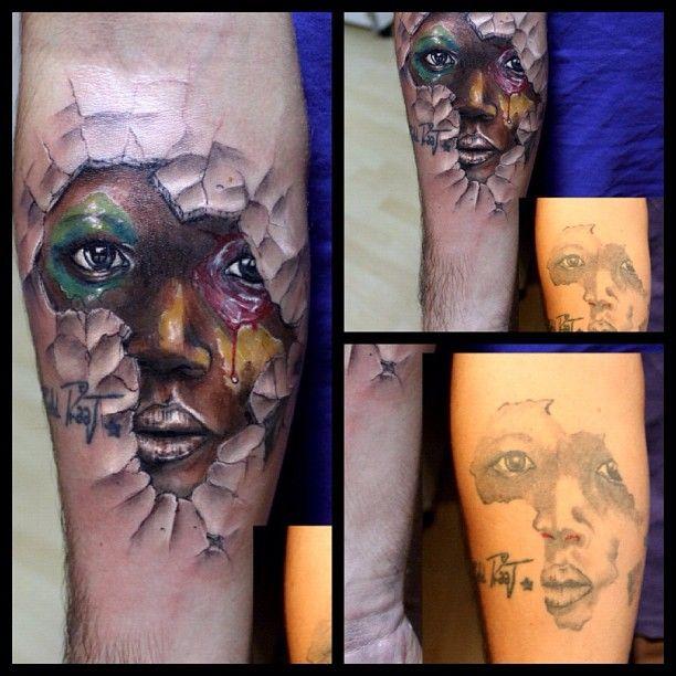 beautiful. tattoos africa