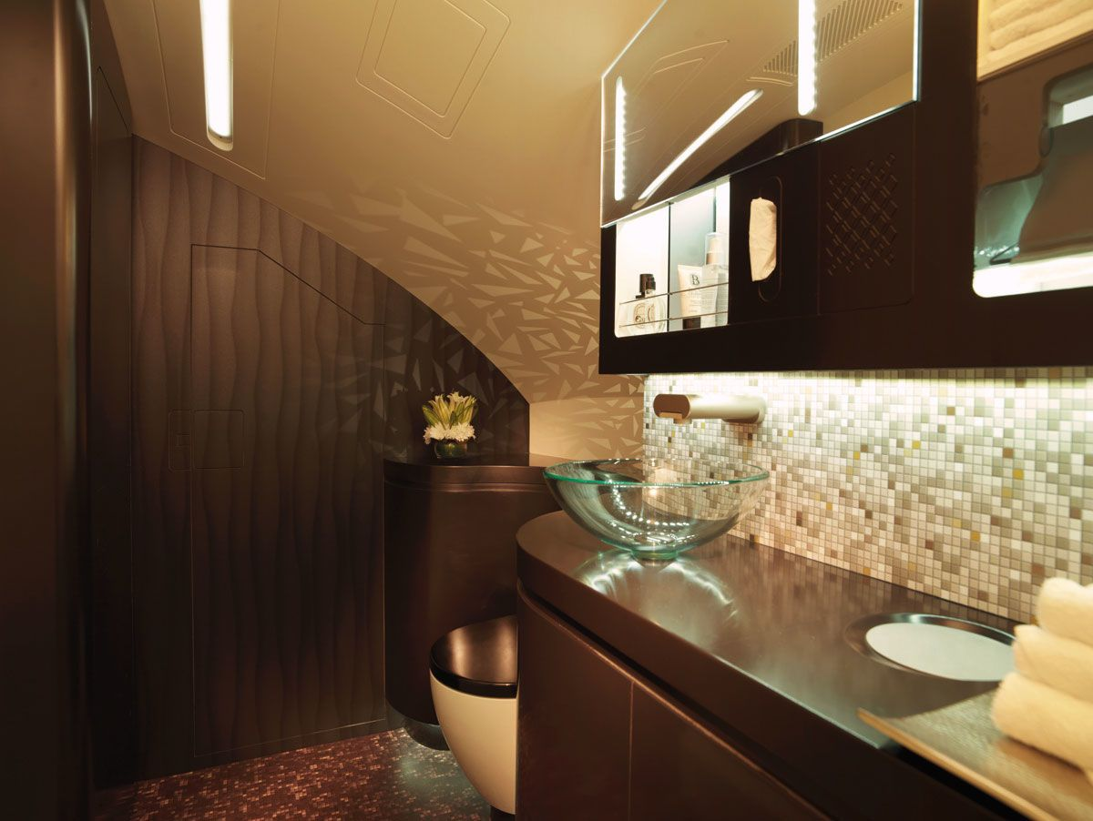 Etihad Airways' new Airbus A380 first class suites will