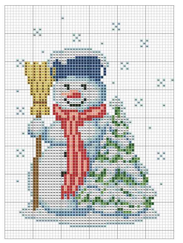 Kreuzstich   Navidad en punto de cruz   Pinterest   Punto de cruz ...